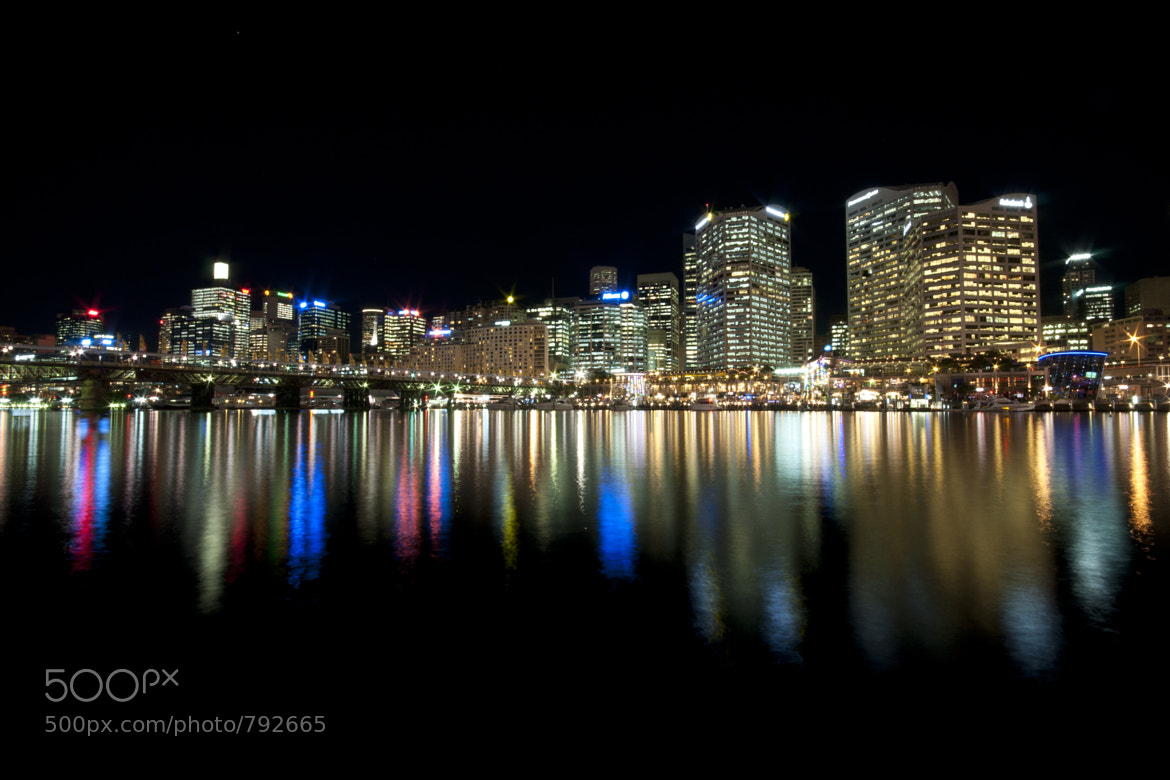Photograph Darling Harbour at night by Keri Beal on 500px