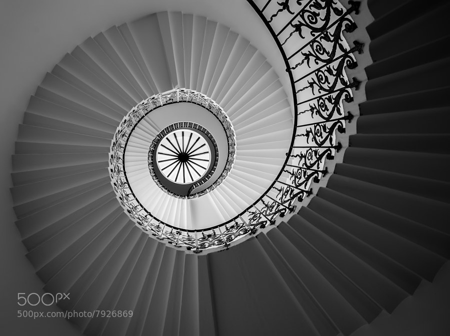 Photograph Tulip Staircase by Vulture Labs on 500px