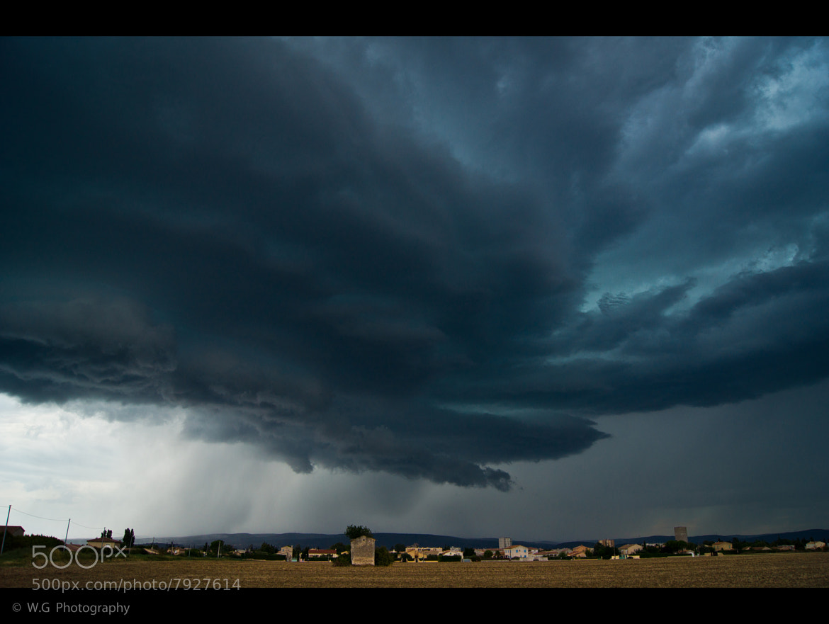 Photograph Storm over Pierrelatte by Guillaume Weber on 500px
