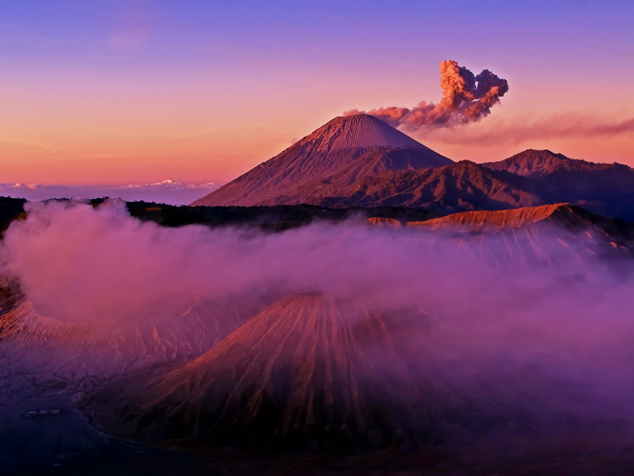 Photograph Triple Mount - Bromo-Semeru-Botok by SIJANTO NATURE on 500px