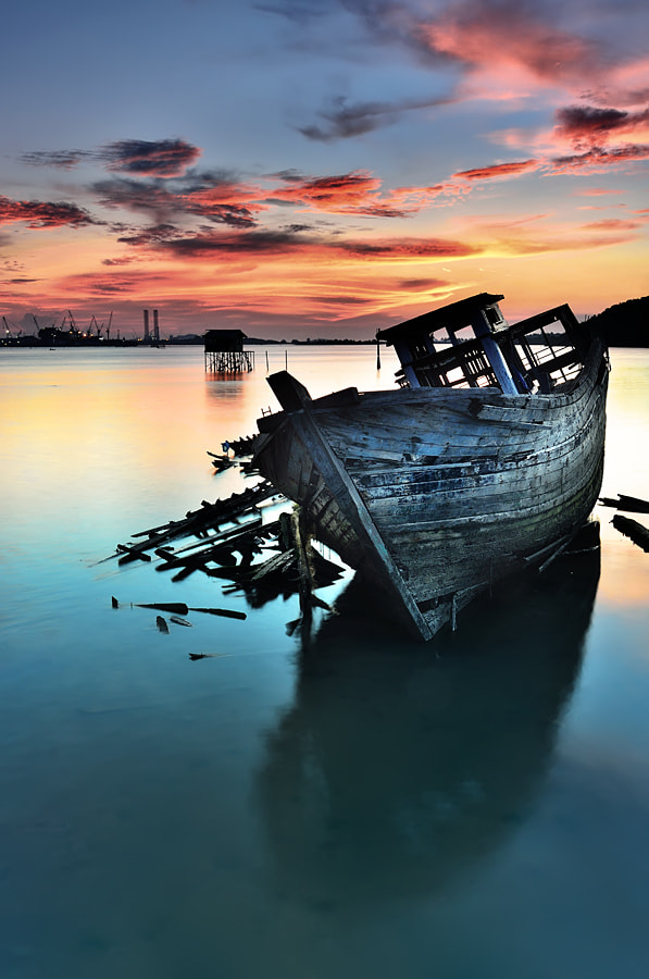 Photograph Broken Boat by Ade Rinaldi on 500px