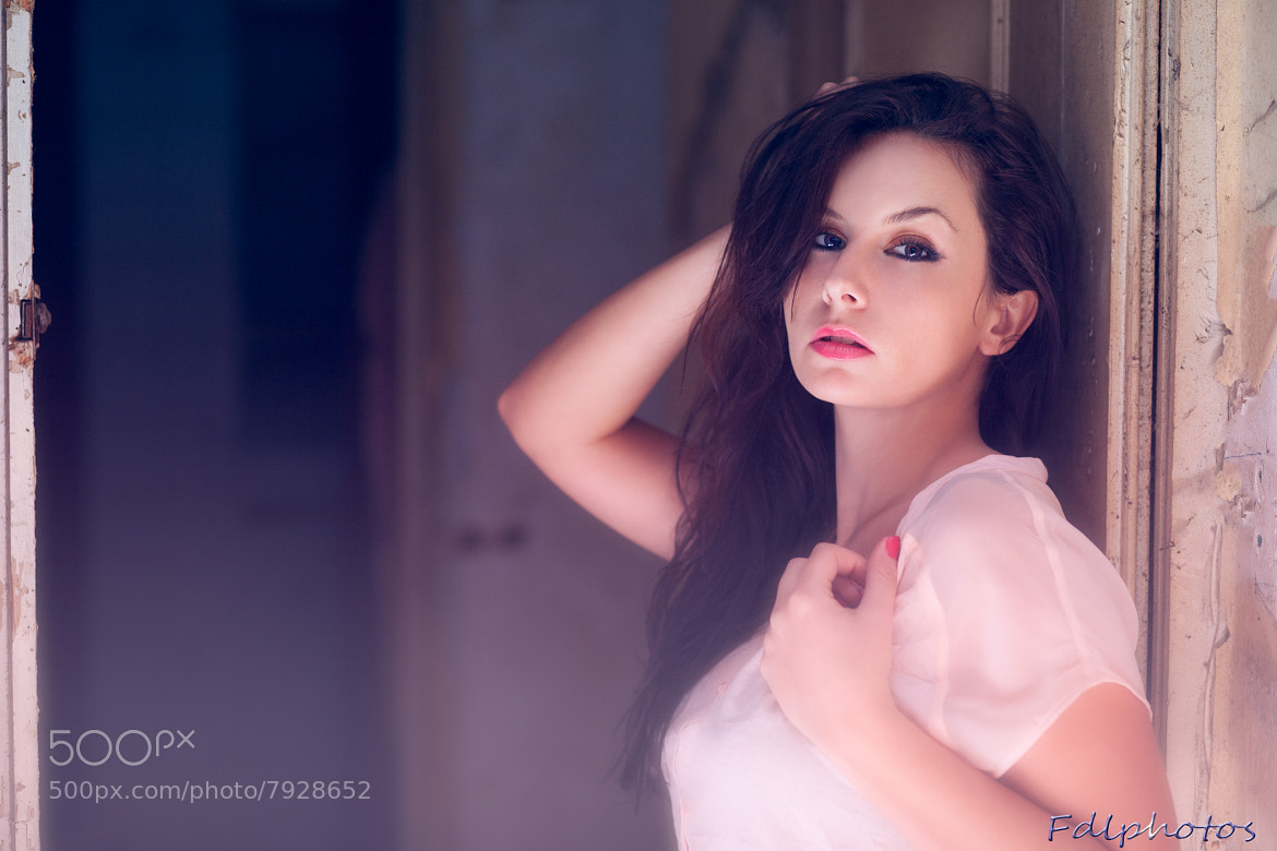 Photograph Magnetic look - Angelique by Francesco De Laurentiis on 500px