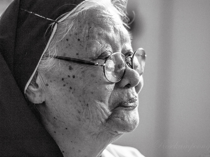 Photograph Sr. Sabina, OSU by Rose Kampoong on 500px