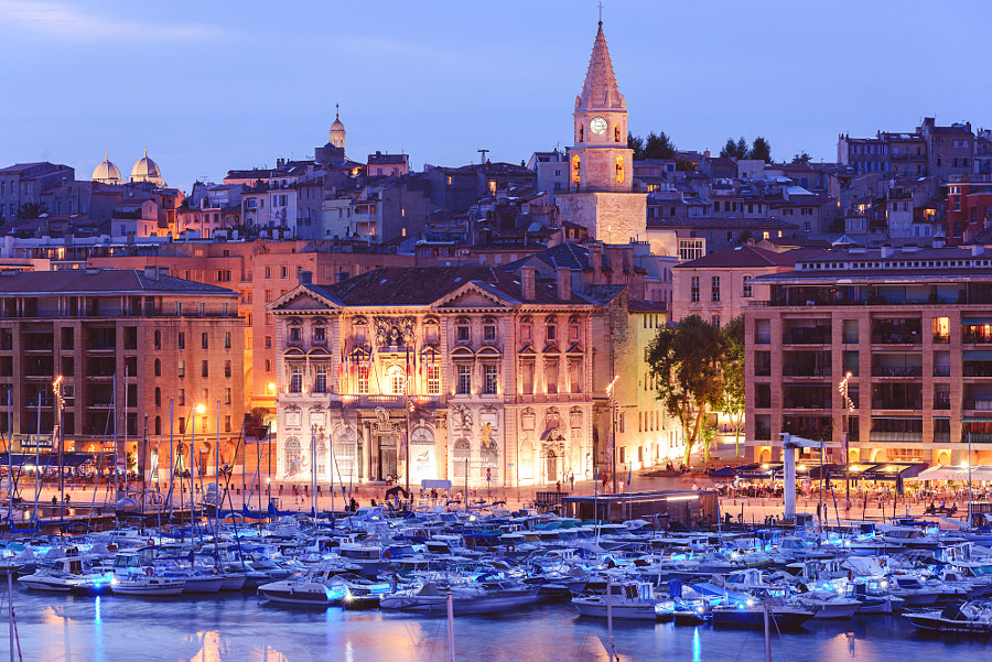 Marseille, old port.