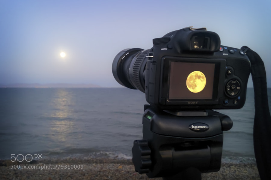 Photograph Supermoon by manuelgalindob on 500px