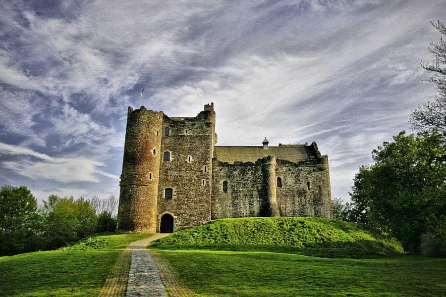 Doune Castle by Buster Brown on 500px.com