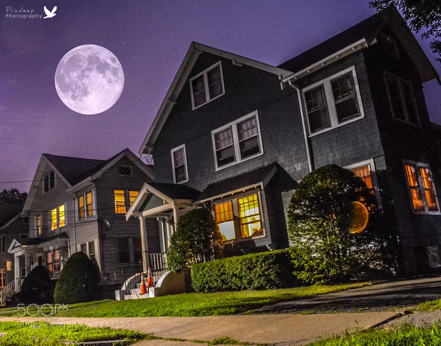 Photograph Eerie Super Moon by Pradeep Kumar on 500px