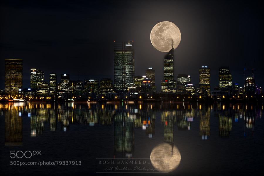 Photograph Super Moon! by Rosh Bakmeedeniya on 500px