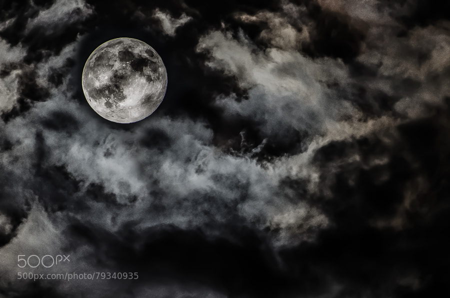 Photograph Supermoon by Syed Kamal on 500px