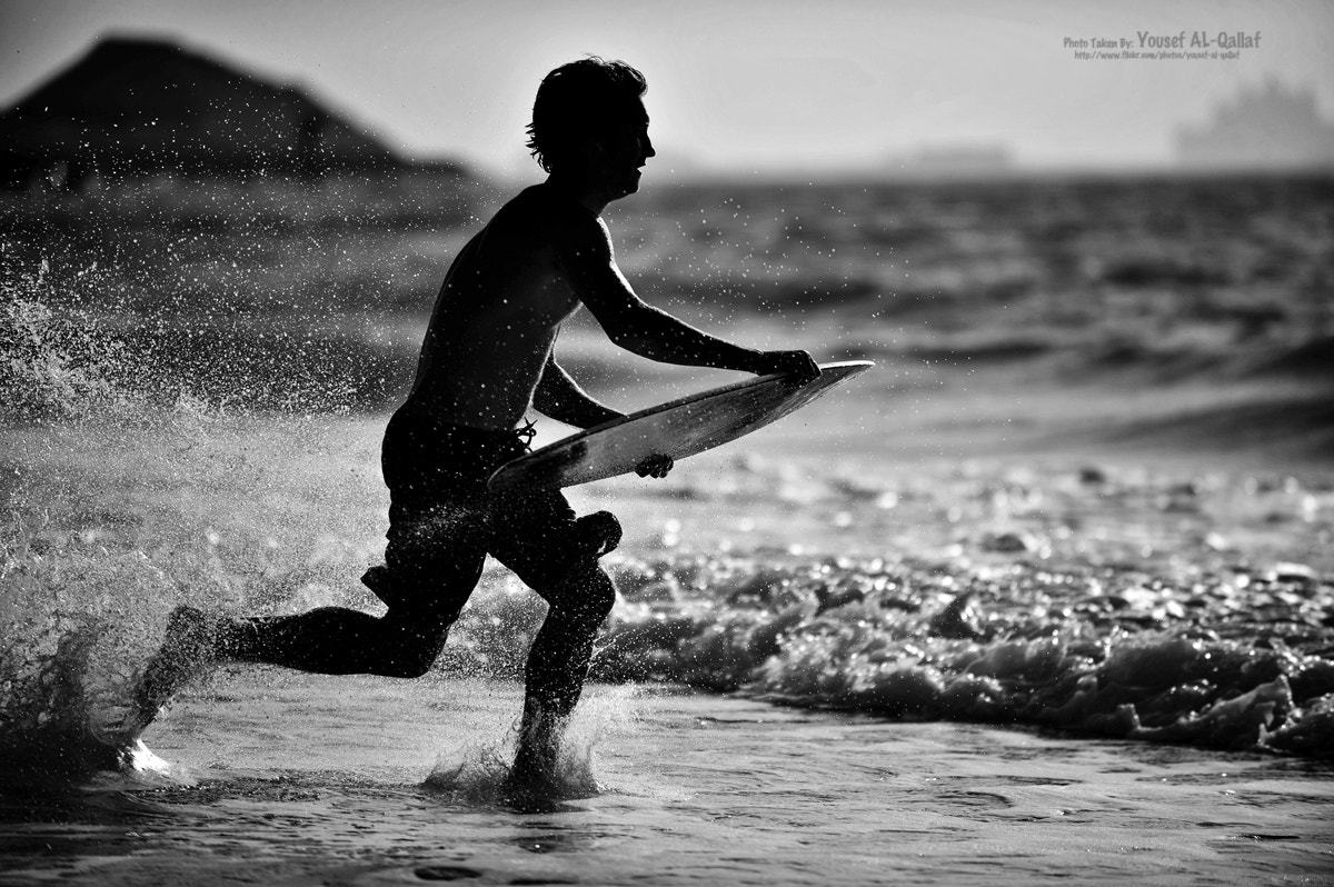 Photograph surfer by Yousef Al Qallaf on 500px