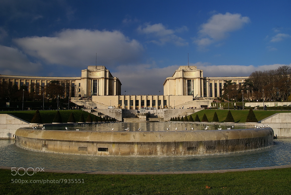 Photograph Palais de Chaillot-Paris by Branko Frelih on 500px