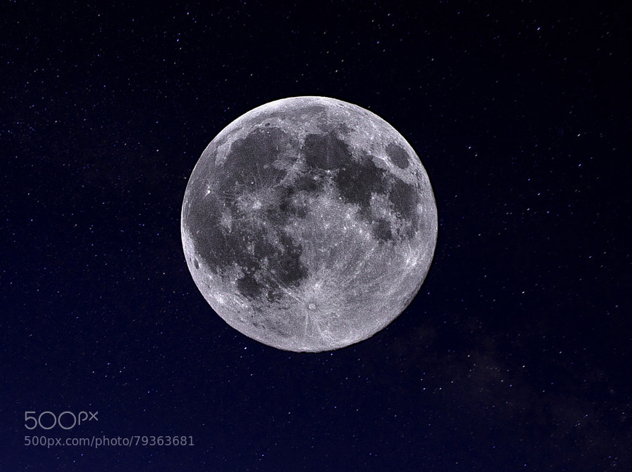 Photograph Supermoon 2014 by Marko Obradovic on 500px