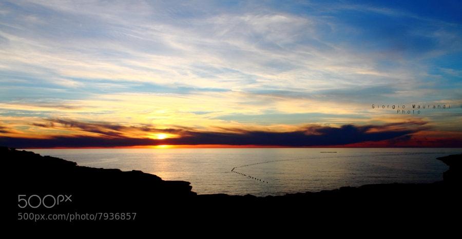 Photograph SunsetTunaTrap by Giorgio Maurandi on 500px