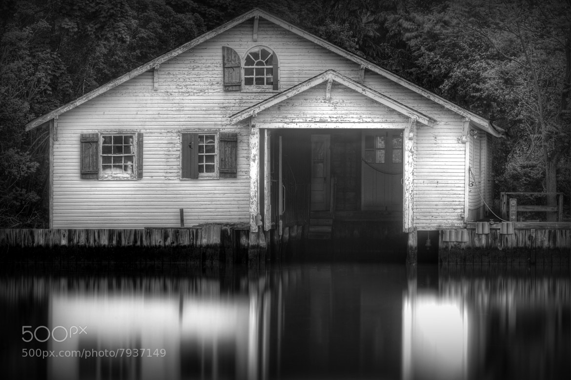 Photograph Boathouse by Evan Lavine on 500px