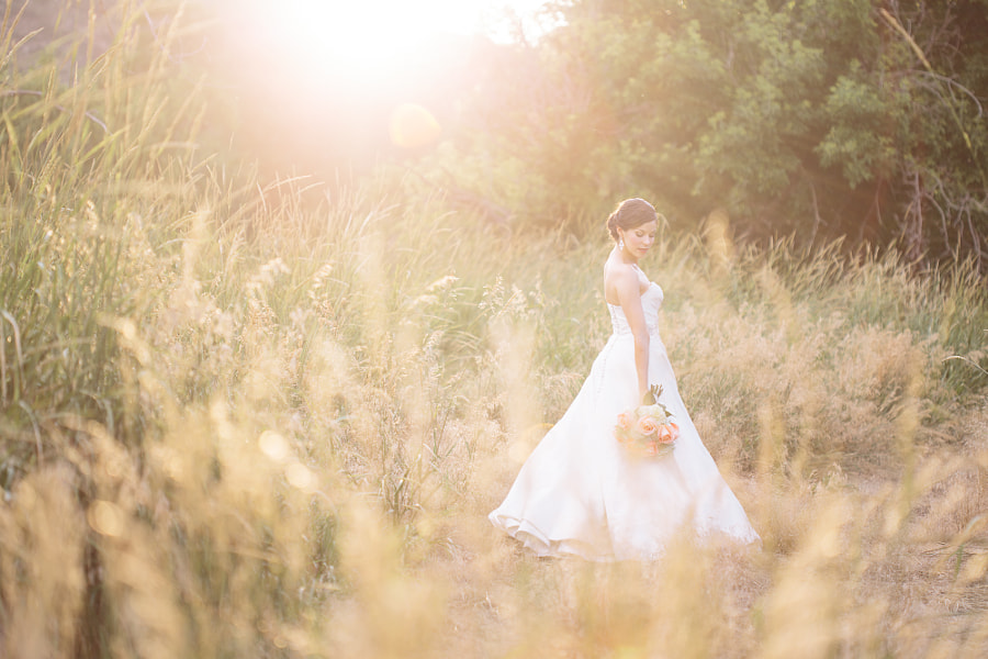 Photograph Ariel Irving Bridal Portrait Session by Mathew Irving on 500px