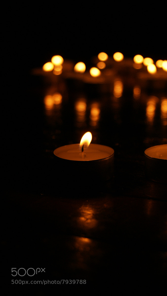 Photograph To light a candle is to cast a shadow. by Azra Ferhatovic on 500px
