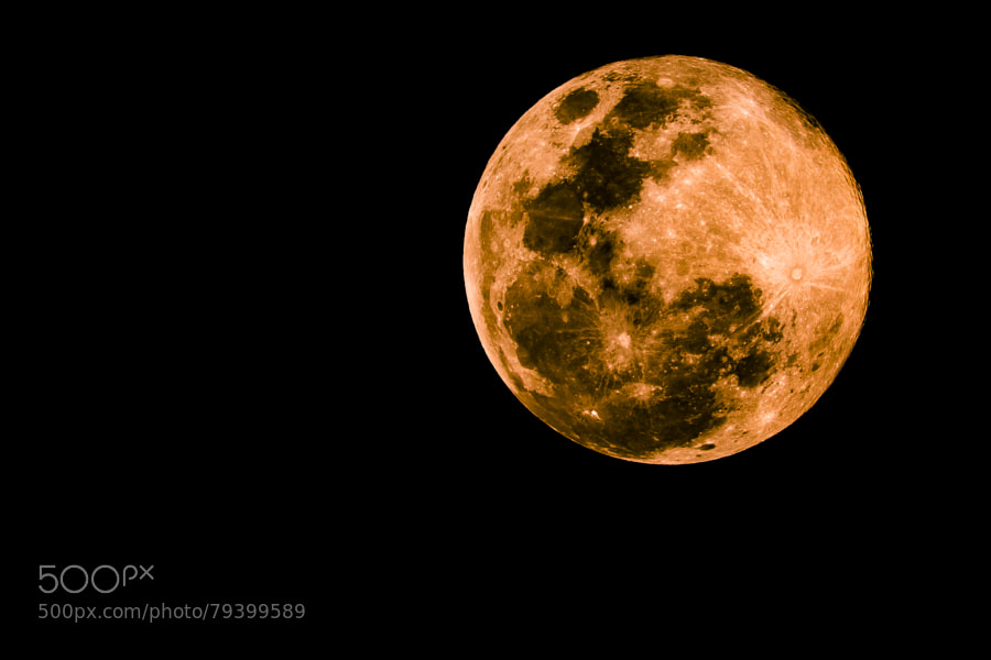 Photograph Wasteland-Supermoon 2014 by Nicholas Brink on 500px