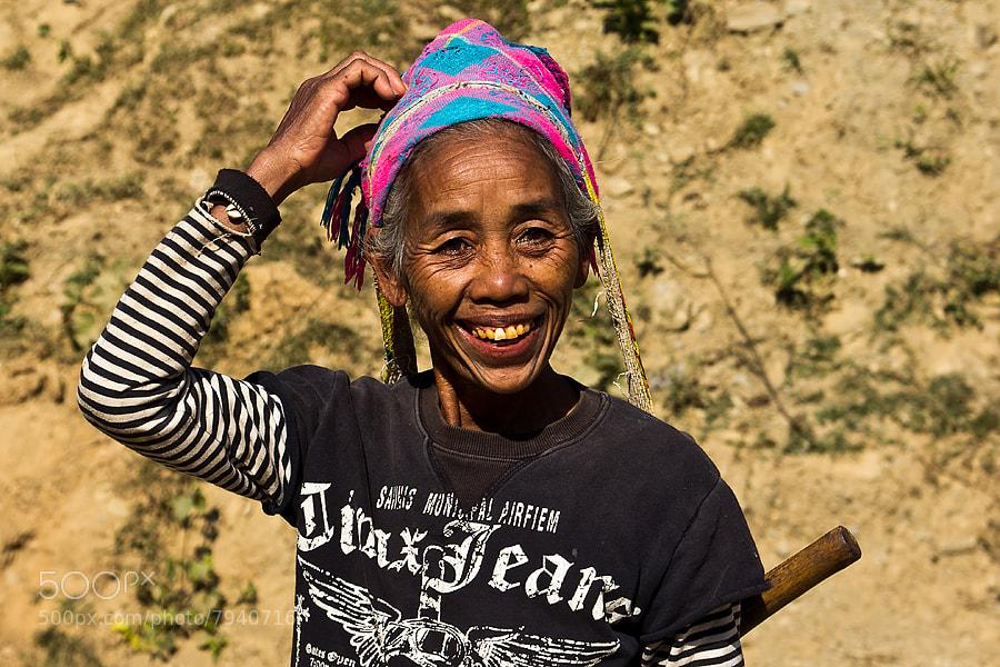 Photograph Lao woman by Christer Häggqvist on 500px