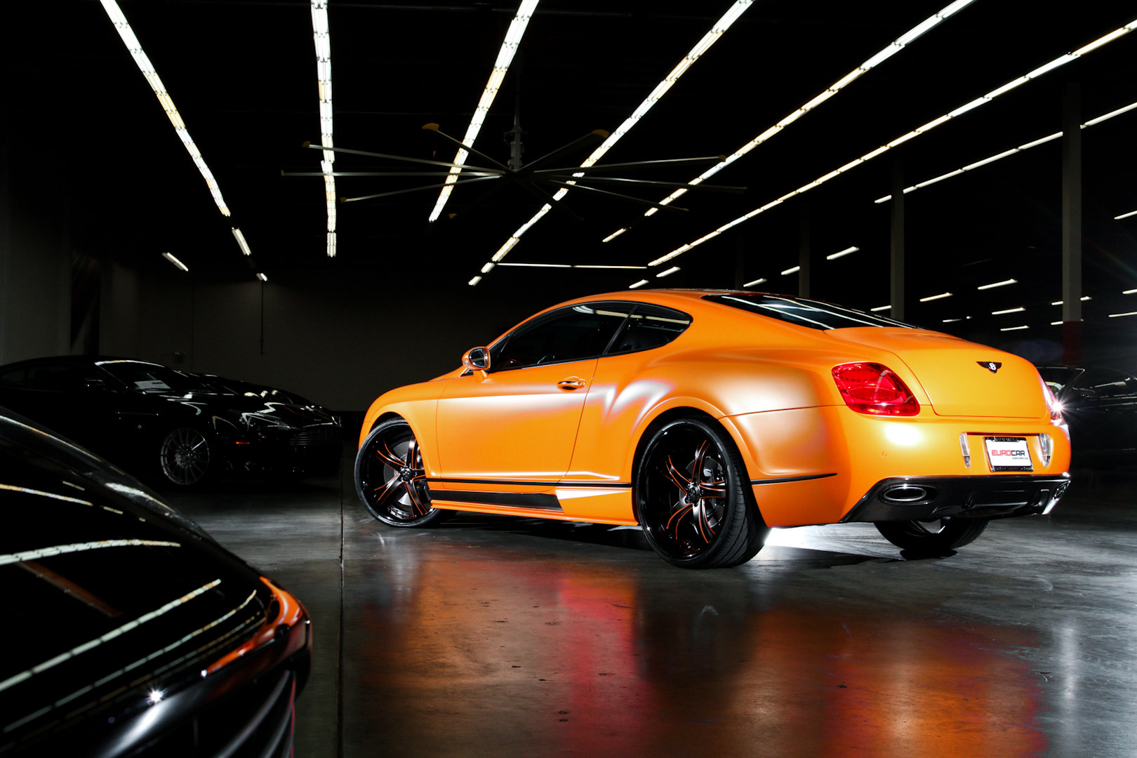 Photograph Satin Orange Bentley GT by Philip Tieu on 500px