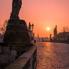 Постер, плакат: Charles Bridge Prague