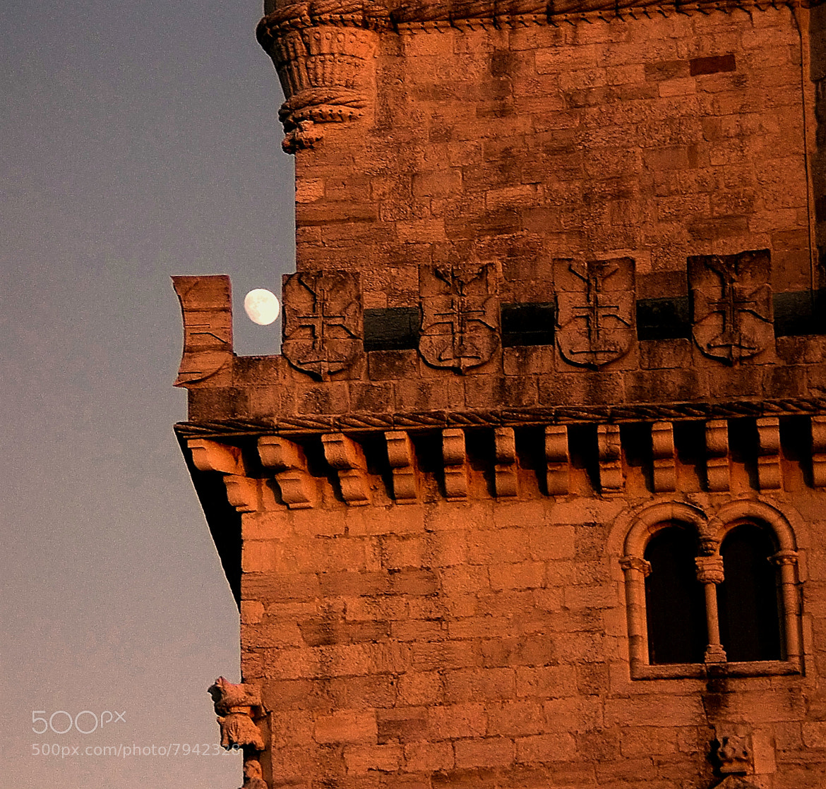 Photograph moon in defensive mood by Rodrigo Monteiro on 500px