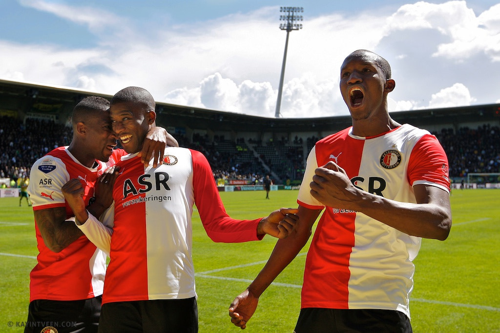 Photograph Guyon Fernandez Scores for Feyenoord by Kay in 't Veen on 500px