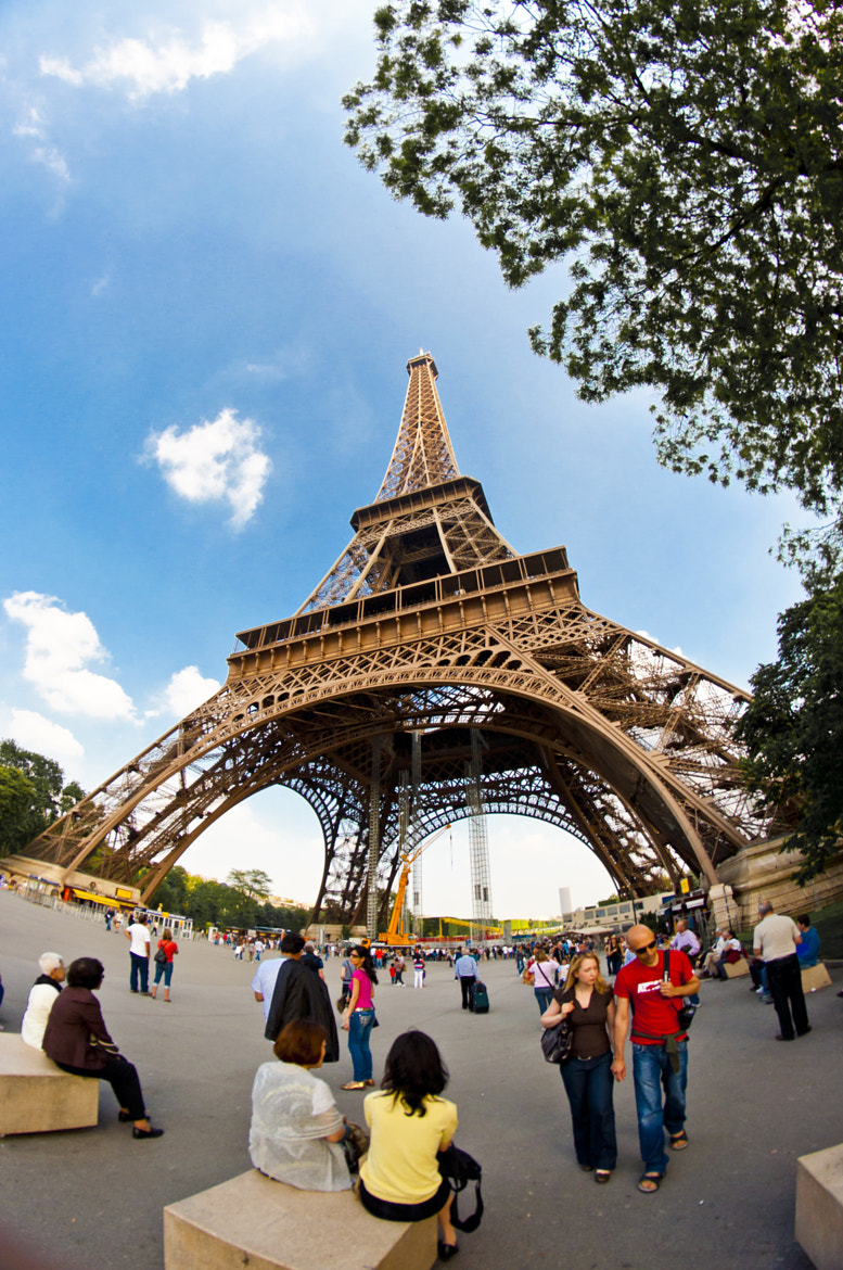 Photograph Eiffel Tower by Cheng LAW on 500px