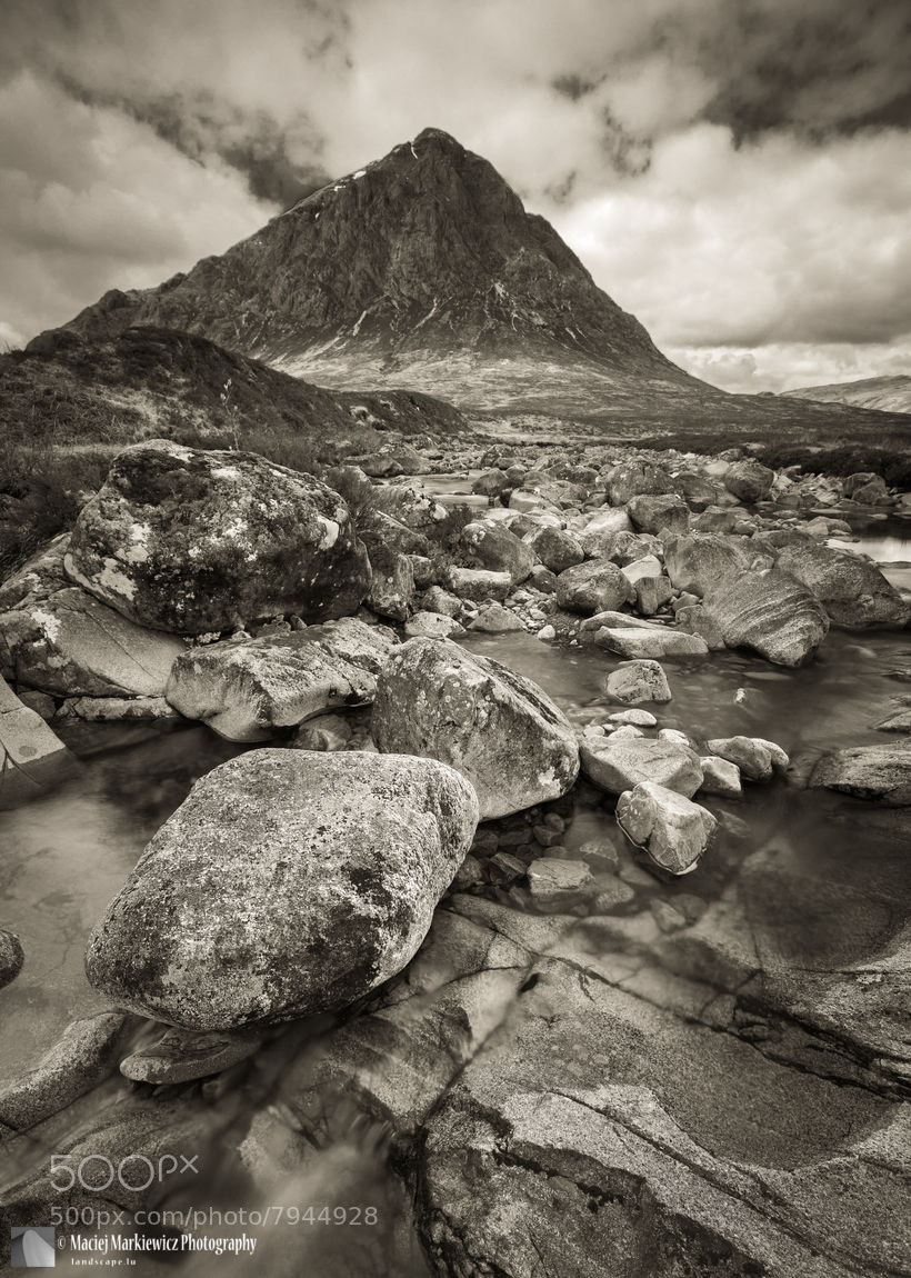 Photograph Buachaille Etive Mòr by Maciej Markiewicz on 500px
