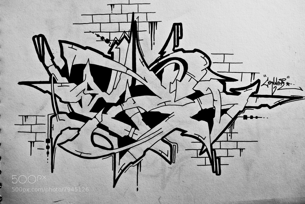 Photograph Graffiti Sketch by Connor Bryant on 500px
