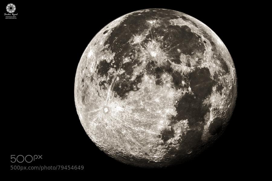 Photograph Super Moon by Serdar Uysal on 500px