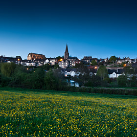 Malmesbury, Spring Evening Meadow by Neil Bryars (Peely22)) on 500px.com