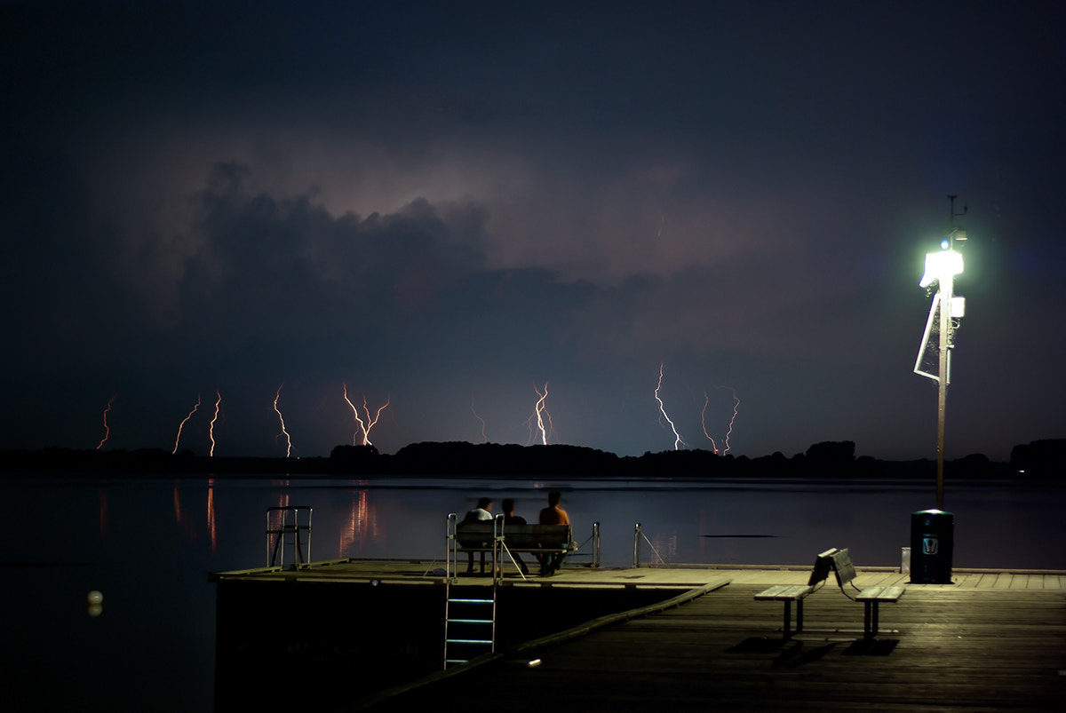 Photograph Light show by Val WestPhotography on 500px