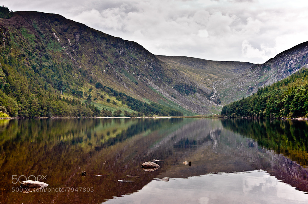 Photograph Glendalough Upper Lake by Bob Kelly on 500px
