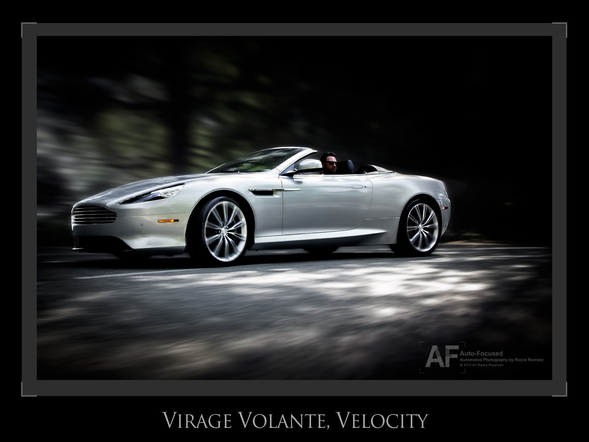 Photograph Candid, Virage Volante Velocity by Royce Rumsey on 500px