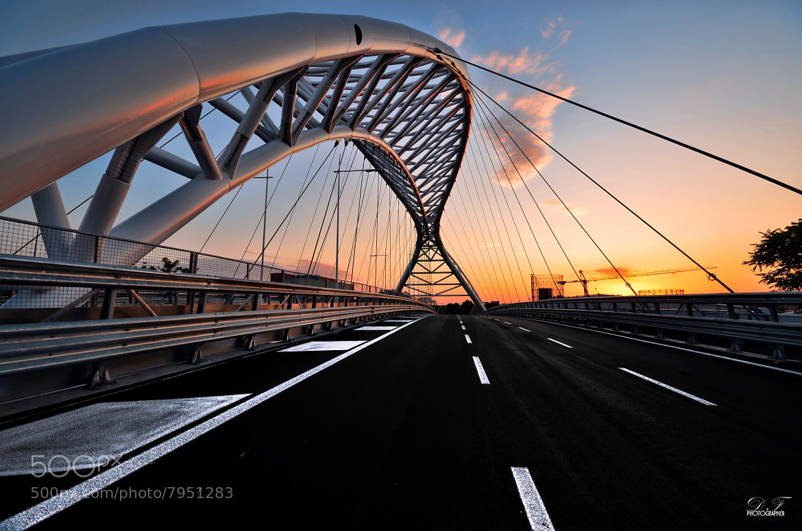 Photograph The Bridge Garbatella - Ostiense  - Rome - by Daniele Forestiere on 500px