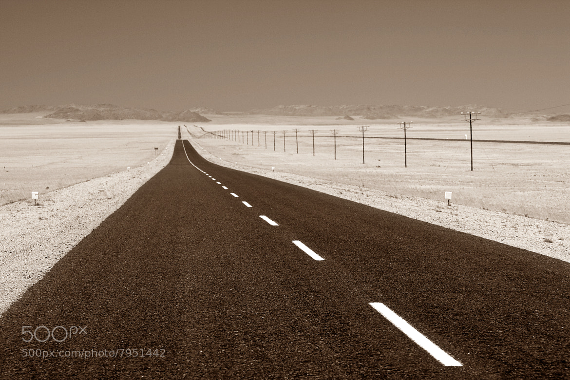 Photograph Never ending road to nowhere... by Wendy Van Zyl on 500px