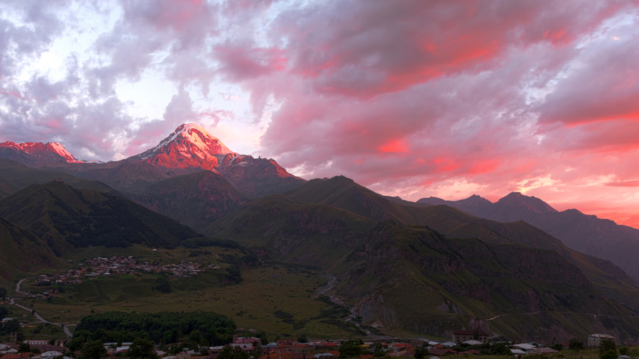 Photograph Mount Kazbek by Salah Althubaiti on 500px