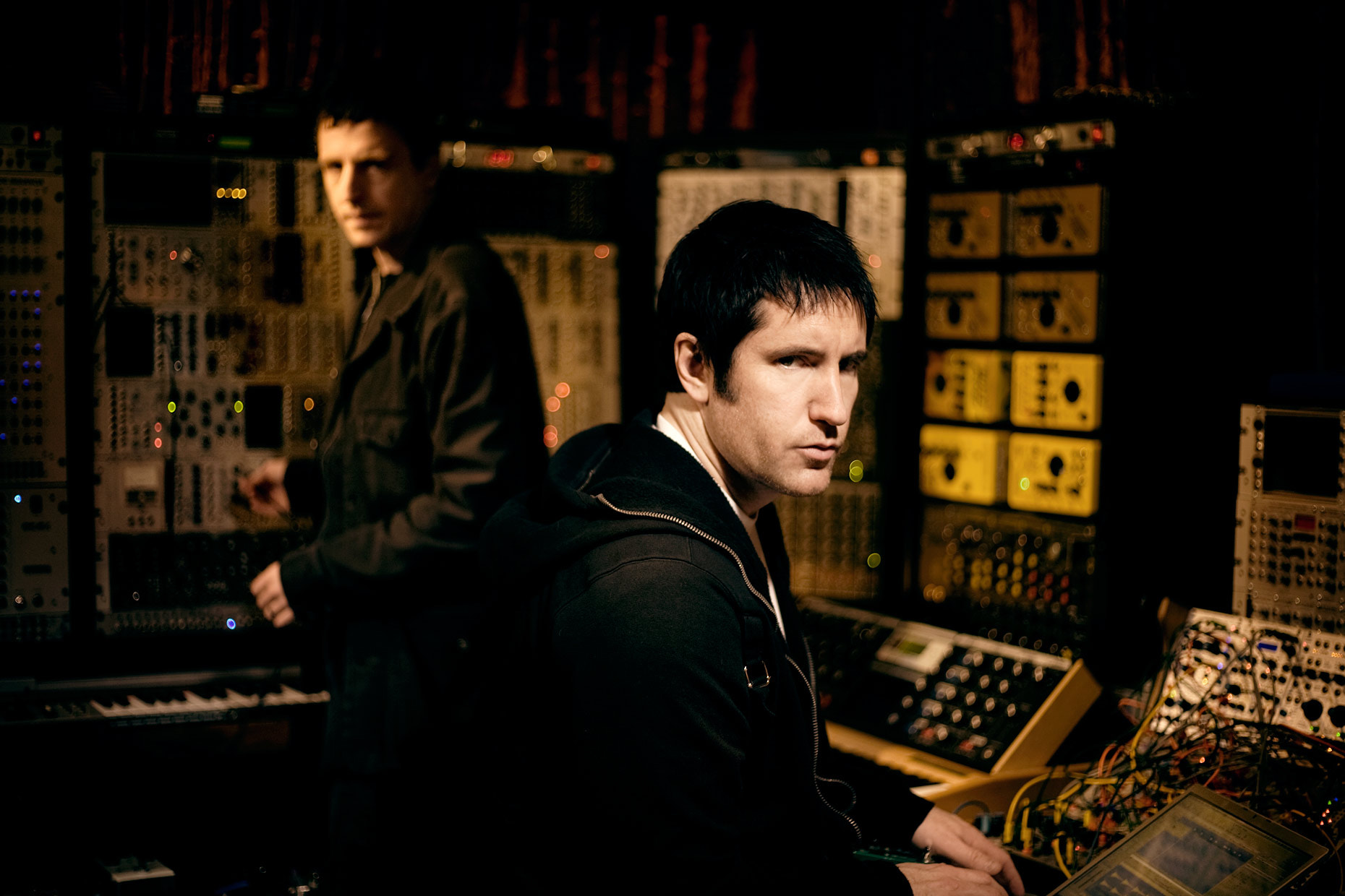 Photograph Trent Reznor and Atticus Ross. 2008. by Rob Sheridan on 500px