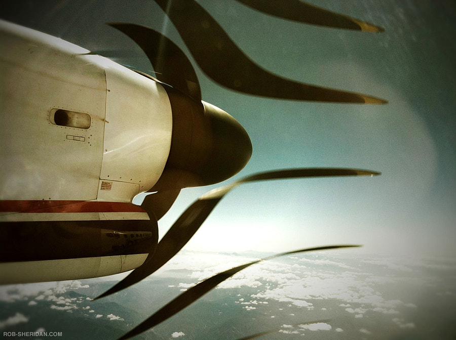 Photograph In flight over California. 2010 (iPhone 4) by Rob Sheridan on 500px