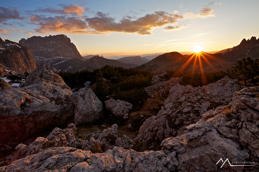 Photograph Golden Rays by Matteo Zanvettor on 500px