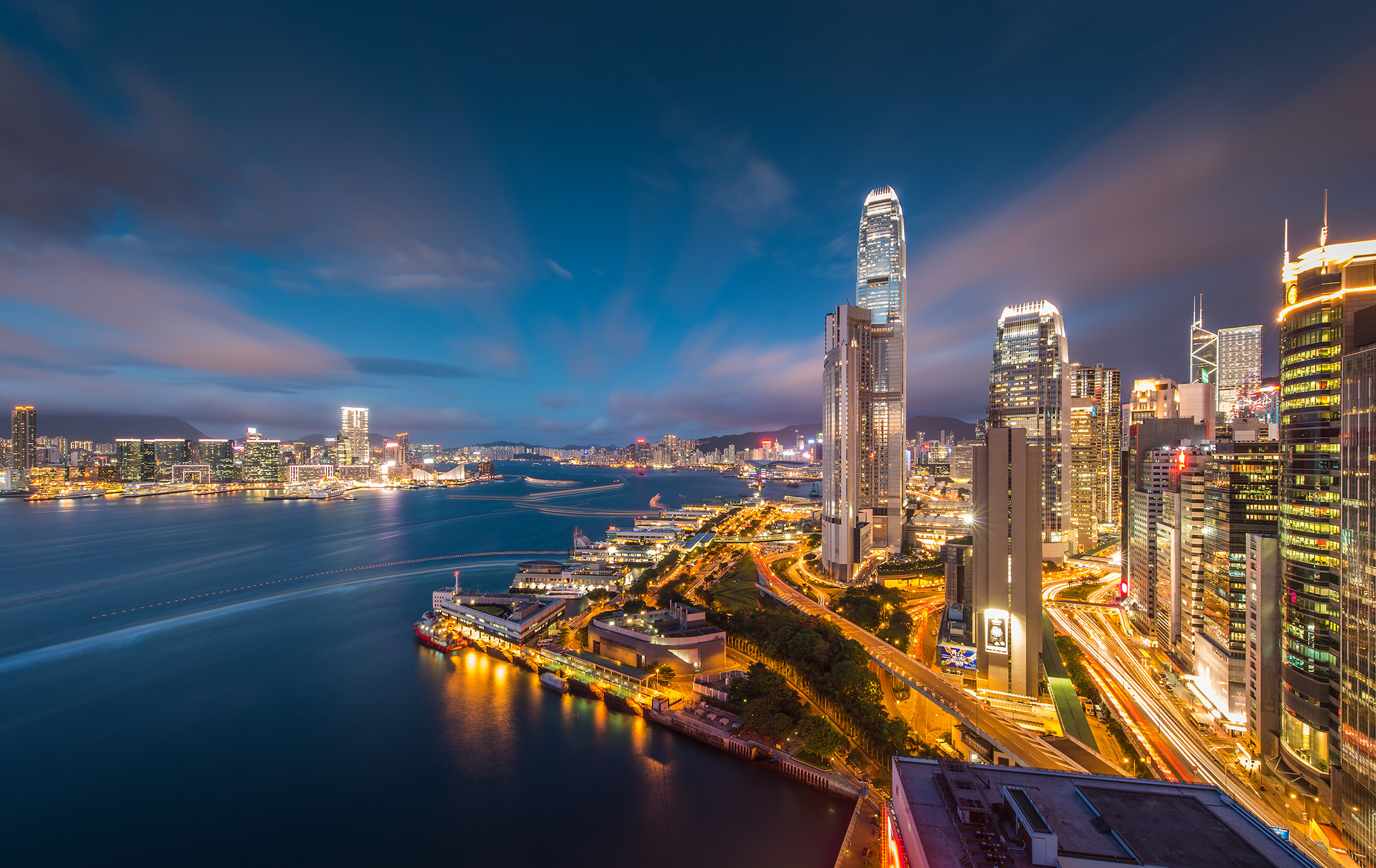 Photograph Hongkong Victoria bay by Coolbiere. A. on 500px