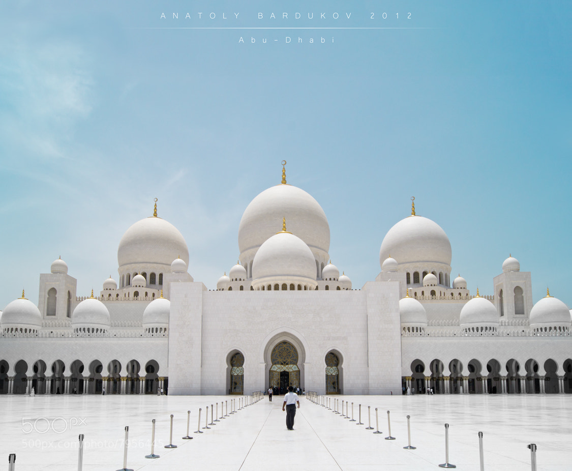 Photograph Abu-Dhabi Mosque by Анатолий Бардуков on 500px