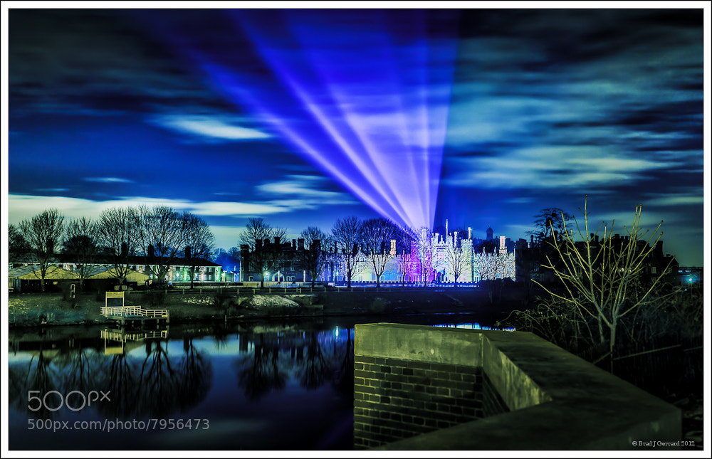Photograph Hampton Court Palace lights christmas by Brad J Gerrard on 500px