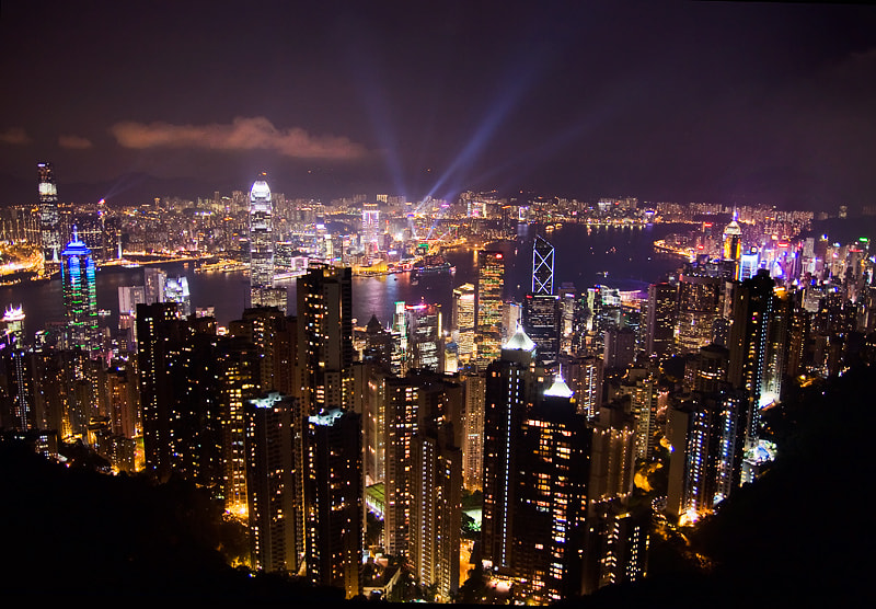 Photograph Hong Kong Lights by Brendon C on 500px