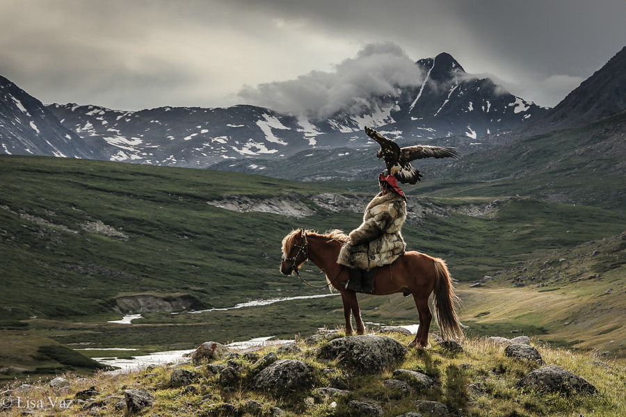The Eagle Hunter by Lisa Vaz on 500px.com