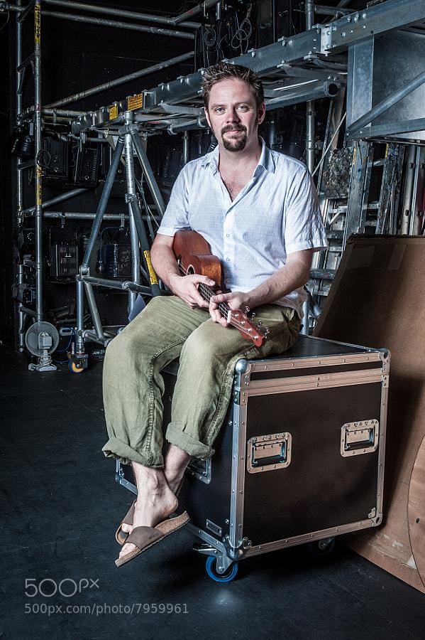 Dave Kinder - founder of The Tunbridge Wells Ukulele Night Thing.