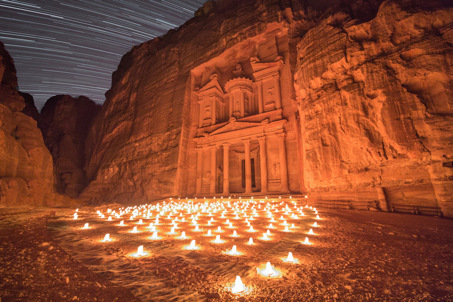Photograph Alone In Petra by Michael Bonocore on 500px