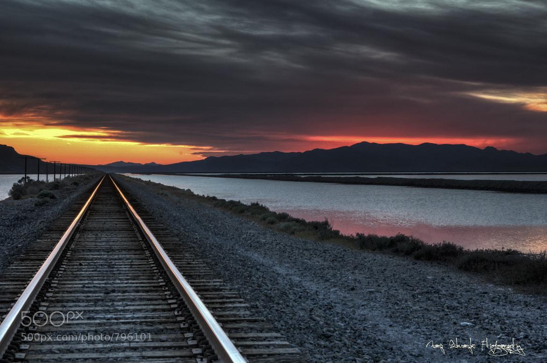 Photograph Burning Horizon by Marc Edwards on 500px