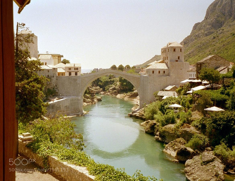 Photograph bridge, Mostar by Werner Monatsspruch on 500px