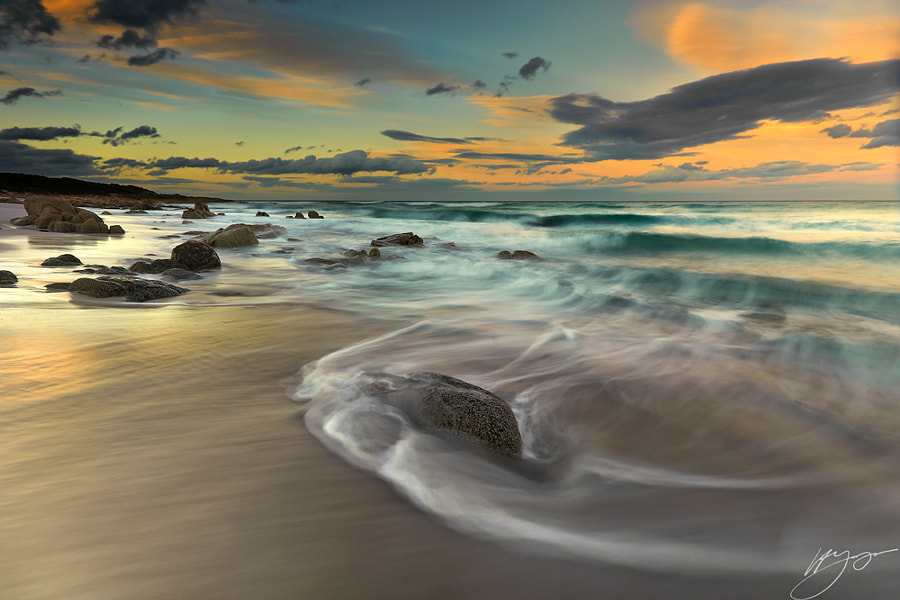 Fine Art Landscape Photography, Afternoon Sunlight by Nature and Landscape Photographer Hillary Younger